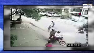 Child Kidnapping CCTV footage
