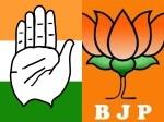 మూడు రాష్ట్రాల్లో కాంగ్రెస్కు ఝలక్.. రాజస్థాన్, మధ్యప్రదేశ్లో బీజేపీ క్లీన్ స్వీప్..