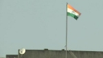 జమ్ము కశ్మీర్ సెక్రటేరియట్పై ప్రత్యేక రాష్ట్ర జెండాను దింపిన అధికారులు