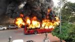 ఢిల్లీలో పౌరసత్వ నిరసన జ్వాలలు: బస్సులు దగ్ధం: మా పని కాదంటోన్న జామియా వర్శిటీ