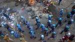 delhi violence: మసీదు, దర్గా ధ్వంసం, తర్వాత నిప్పు, మాస్క్ ధరించి, వ్యానులో వచ్చిన దుండగులు..