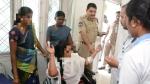 దటీజ్..మహేష్ భగవత్: గాయపడ్డ మహిళకు స్వయంగా ట్రీట్మెంట్..ఎస్కార్ట్ వాహనంలో ఆసుపత్రికి..!