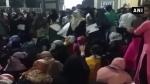 ఢిల్లీ అల్లర్లు : హైదరాబాద్ మౌలానా ఆజాద్ యూనివర్సిటీలో నిరసనలు