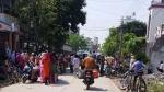 కరోనా: ఎమ్మెల్యే సారూ.. ఎందీ.. ఇదీ... బర్త్ డే పేరుతో సరుకులు పంపిణీ, గుమికూడిన 100 మంది...