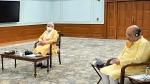 మోడీతో అమిత్ షా భేటీ: కరోనా, లాక్డౌన్పై కీలక చర్చ, పొడిగింపుపై రేపే ప్రకటన?