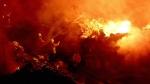 విశాఖపట్నం పోర్టు నౌకలో అగ్ని ప్రమాదం: ఇంజిన్లో మంటలు