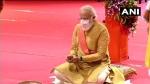 వైభవంగా.. కన్నుల పండువగా: రామ్లల్లాకు సాస్ఠాంగ ప్రణామం: భూమిపూజలో మోడీ