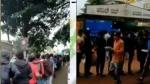 దమ్ బిర్యానీ: ఆ రెస్టారెంట్ వద్ద ఒకటిన్నర కిలోమీటరు వరకూ జనాల క్యూవీడియో
