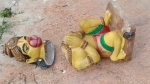 హిందూ ఆలయాలపై దాడులు: కర్నూలు జిల్లాలో హనుమాన్ విగ్రహ ధ్వంసం..చేస్తున్నదెవరు?