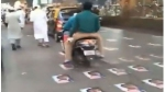 ముంబై రోడ్లపై ఫ్రాన్స్ అధ్యక్షుడి పోస్టర్ల కలకలం: ఉగ్రవాదులకు మద్దతా? అంటూ బీజేపీ