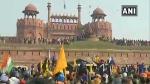 Red Fort ముట్టడి: ఎర్రకోటపై ఎగిరిన జెండా: అయిదంచెల భద్రత తుత్తునీయలు