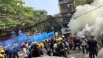 మయన్మార్: ఆందోళకారులపై భద్రతా బలగాల కాల్పులు: 38 మంది మృతి