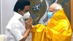 ప్రధాని మోడీతో తమిళనాడు సీఎం ఎంకే స్టాలిన్ భేటీ: కీలక అంశాలపై చర్చ