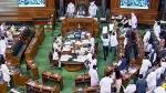 లోక్ సభలో 10 మంది కాంగ్రెస్ ఎంపీల సస్పెన్షన్- స్పీకర్ పై పేపర్లు విసిరినందుకు చర్యలు