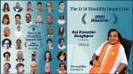 D-30 డిసేబిలిటీ ఇంపాక్ట్ లిస్టు 2021 జాబితాలో భారత్ నుంచి డాక్టర్ సాయి కౌస్తువ్ గుప్తాకు చోటు