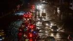 Rain in Hyderabad : హైదరాబాద్లో భారీ వర్షం... జలమయమైన పలు ప్రాంతాలు...