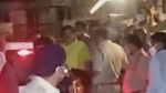 టీడీపీ నేత పట్టాభి అరెస్ట్: తలుపు తాళం పగలగొట్టి, భారీ బందోబస్తు మధ్య పోలీస్ స్టేషన్కు తరలింపు