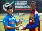 U-19 ప్రపంచ కప్: భారత్ 145, వికెట్లు పోగొట్టుకుంటున్న విండీస