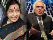 తెహెల్కా: సుష్మాVsసిబాల్, షోమా ఇంటివద్ద హల్చల్