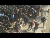 ఉక్రెయిన్ పార్లమెంటు వద్ద పేలుడు: 100మందికి గాయాలు