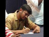 విజయవాడలోనూ ఉద్రిక్తత: మోడీని నేరుగా టార్గెట్ చేసిన కన్నయ్య