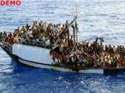 సముద్రంలో మునిగిన పడవలు, 240 మంది మృతి