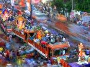 26వేల మంది పోలీసులతో భద్రత: గణేశ్ నిమజ్జనంపై ఖాకీ నిఘా, ఏరియల్ సర్వే!