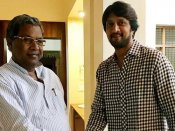 జేడీఎస్ తర్వాత సీఎం సిద్ధరాయ్యను కలిసిన నటుడు సుదీప్: కర్ణాటకలో ఏం జరుగుతోంది?