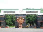 కలకలం:ఆంధ్రా యూనివర్శిటీలో ర్యాగింగ్...8 మంది విద్యార్థుల సస్పెన్షన్