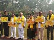 లోకసభ నుంచి 12 మంది టీడీపీ ఎంపీల సస్పెన్షన్: 'ఏపీకి మోడీ అందుకే రావట్లేదు'
