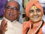 డిగ్గీ రాజాపై పోటీకి సన్యాసిని సై: బీజేపీలో చేరిక: సీటు ఖరారు