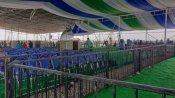 మంత్రుల ప్రమాణ స్వీకారోత్సవానికి సర్వం సిద్ధం: సచివాలయంలో పండగ వాతావరణం