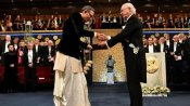 ఏదేశమేగినా ఎందుకాలిడినా: భారత వస్త్రధారణలో నోబెల్ పురస్కారం అందుకున్న అభిజీత్