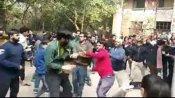 JNU Violence:లెఫ్ట్ ముసుగులో దాడి చేసింది ఏబీవీపీ వ్యక్తే... నిర్థారించిన ఏబీవీపీ అధ్యక్షుడు