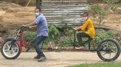 దో గజ్ దూరి!: ఈ బైక్ భౌతిక దూరం పాటిస్తుంది!