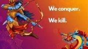 అయోధ్య రాముడు డ్రాగన్ను చంపేస్తాడు: తైవాన్, హాంకాంగ్ సంబరాలు, నెటిజన్ల ఐక్యత