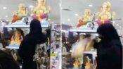 ఇంత విధ్వేషమా?: వినాయక విగ్రహాలు ధ్వంసం చేసిన మహిళలు(వీడియో)