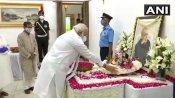 రాజాజీ మార్గ్కు ప్రణబ్ పార్థీవ దేహం... నివాళులు అర్పించిన రాష్ట్రపతి, ప్రధాని