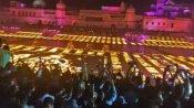 అయోధ్యలో రికార్డులు బద్దలు -5.84లక్షల ప్రమిదలతో దీపోత్సవం -దేశమంతా దీపావళి సంబురాలు