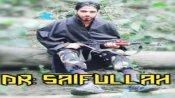 భారీ విజయం: ఎన్కౌంటర్లో హిజ్బుల్ ముజాహిదీన్ చీఫ్ సైఫుల్లా హతం