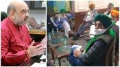 అమిత్ షా.. అటో ఇటో తేల్చుకో -రైతుల అల్టిమేటం -6వ రౌండ్ అజెండా -రాత్రి హైడ్రామా