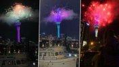 Happy New Year 2021: కొత్త సంవత్సరంలోకి ఎంటరైన న్యూజిలాండ్ - పటాకులతో గ్రాండ్ వెల్కమ్