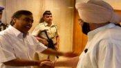 Fake : భారత్ బంద్కు ముందు రోజు అంబానీతో పంజాబ్ సీఎం భేటీ...?