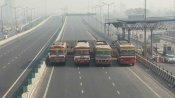 కేంద్రంతో రైతుల రెండో విడత చర్చల వేళ: ఢిల్లీ, ఘజియాబాద్ బోర్డర్ లో నిరసన, నేషనల్ హైవే 9 దిగ్బంధం