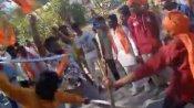 ఎంపీ అరవింద్ ర్యాలీలో తల్వార్లతో యువకుల హల్చల్... సుమోటో కేసు,ఏడుగురి అరెస్ట్...