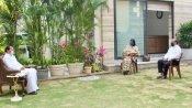 ఉప రాష్ట్రపతి వెంకయ్యనాయుడుతో భారత్ బయోటెక్ బాసుల భేటీ: కోవాగ్జిన్పై కీలక చర్చ