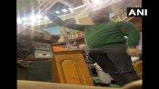బడ్జెట్ సమావేశాల తొలిరోజే రచ్చ -రాష్ట్రపతి ప్రసంగం మధ్యలో ఆర్ఎల్పీ ఎంపీ హల్చల్ -మార్షల్స్ ఎంట్రీ