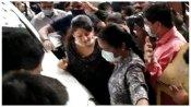 Radhika: పోలీసుల ముందు మాజీ సీఎం భార్య, నేనుపారిపోలేదు, పారిపోను, మాటమీద నిలబడుతా, తెలుసా !