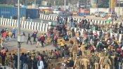 Farmers protest: ఢిల్లీ హింస, బాహుబలి ఫైటింగ్, తల్వార్ కత్తి కాంతారావ్+ 44 మంది అరెస్టు !