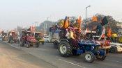 viral video : ఢిల్లీలో పోలీసులపైకి దూసుకొచ్చిన ట్రాక్టర్లు- భయంతో పరుగులు